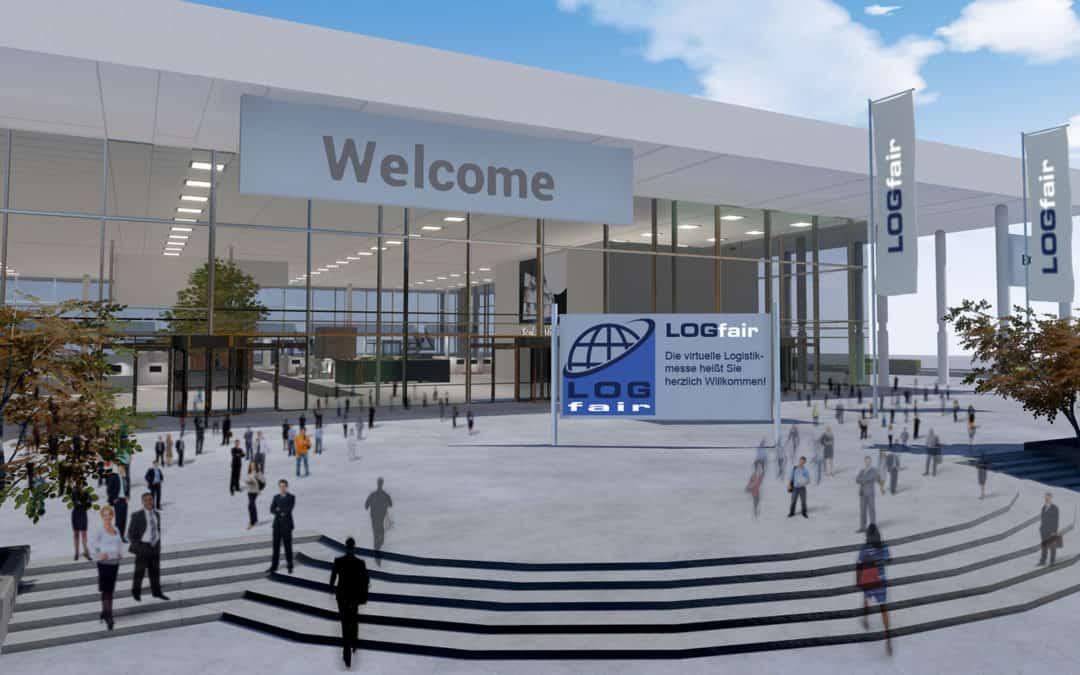 Ab dem 11. Februar startet die erste virtuelle Logistikmesse LOGfair