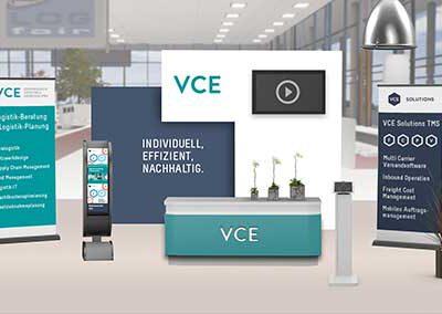 VCE-Logfair-Messestand